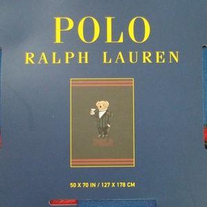 Polo Ralph Lauren Martini Tuxedo Bear Throw